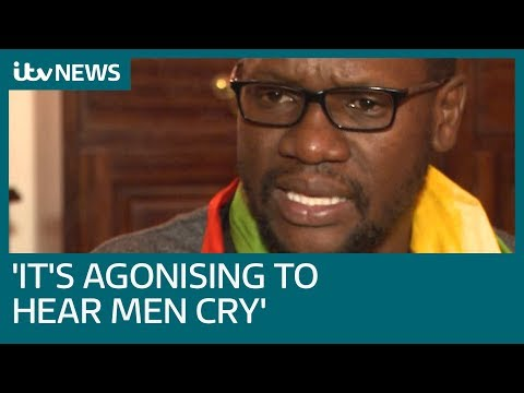 Pastor Evan Mawarire tells ITV News of horrors he saw in Zimbabwe's jail – VIDEO
