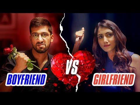 Girlfriend vs Boyfriend - Rapbaazi | Valentine's Day Special | Being Indian
