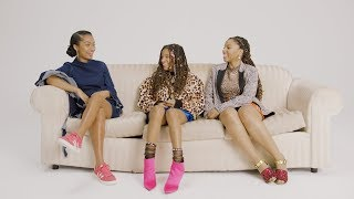 ASOS Discussion with Chloe x Halle x Yara