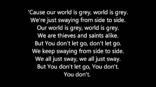 As Cities Burn - Our World Is Grey (Lyrics)