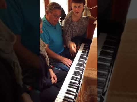 Sample Beginner Piano lesson for adults 3 objectives Learn fingering Learned note names Learned a simple song