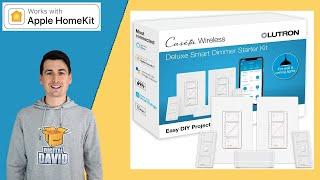 Apple HomeKit Smart Dimmer Switch // Lutron Caseta Wireless Smart Switch Installation