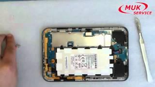 Samsung GT P3113 замена микрофона и разьема для наушников