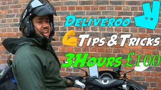 Deliveroo Tips&Trick How to Make the Most £££