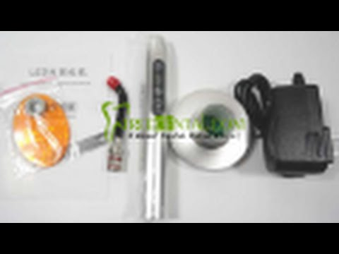 Aluminium Shell 5W Dental Cordless LED Curing Light Lamp - Treedental
