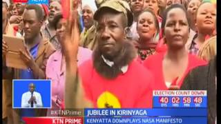 President Uhuru and DP Ruto maintain that NASA has no moral authority to criticize Jubilee
