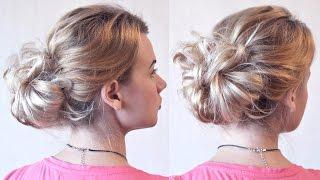 Пучок | Своими руками | Авторские причёски | Лена Роговая | Hairstyles by REM | Copyright ©