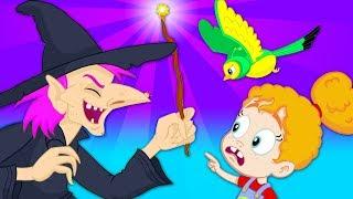 ¡Cuidado con la Bruja Groovy! - Groovy el Marciano Dibujos infantiles