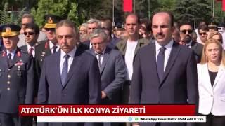 Atatürk'ün ilk Konya ziyareti