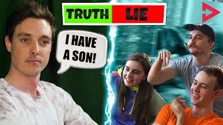 TWO TRUTHS AND A LIE CHALLENGE! Ft. Lazarbeam, Muselk,  Loserfruit, Crayator and BazzaGazza