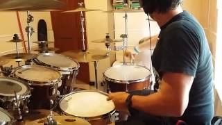 I am legend / Out for blood   by Archenemy drum cover by Mikke Devastation