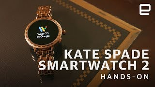 Kate Spade Scallop Smartwatch 2 Hands-On: Android Wear in a prettier package