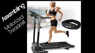 Motorisiertes laufband 500w set up|Letix Sports Motorized Treadmill Assembling | Treadmill 2020