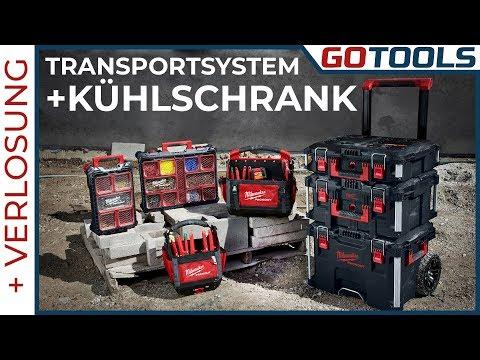 🔥 Milwaukee PACKOUT | Transportsystem - Mobil mit Kühlschrank 🔔 inkl. Verlosung! 🔔