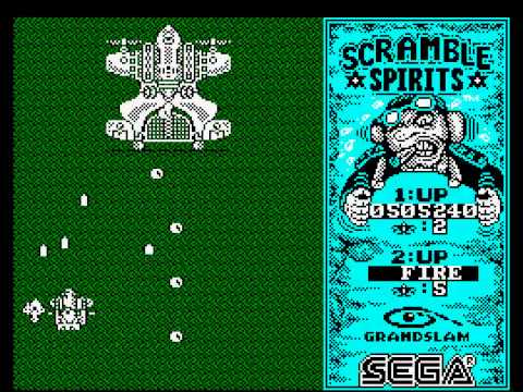 Scramble Spirits - Amstrad CPC Longplay