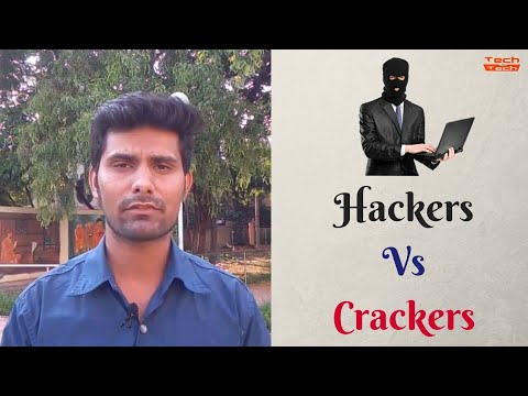 What are Hackers and Crackers Battle of White Hat vs Black Hat Hacker [Hindi]
