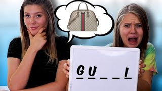 Guess the Word and I'll Buy It Challenge!!