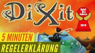 Dixit - Regeln - Aufbau - Erklärung - Anleitung - Spiel des Jahres 2010