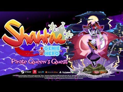 Shantae: Half-Genie Hero – Pirate Queen's Quest Official Trailer! thumbnail