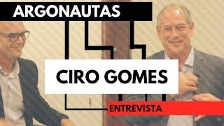 Argonautas entrevistaram o Ciro Gomes