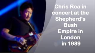 Chris Rea - Concert at Shepherd's Bush Empire In London (1998)