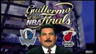 Guillermo At The NBA Finals