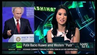 "Huawei CFO Under More Legal Heat & ""A-pork-alypse"" Threat"