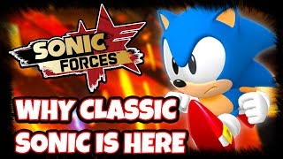 Download Youtube: SONIC FORCES - Classic Sonic's Inclusion REVEALED! My Thoughts & Analysis