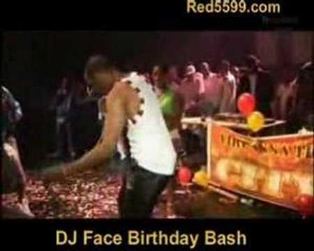 DJ Face Birthday Bash with Wayne Marshall & president Sas
