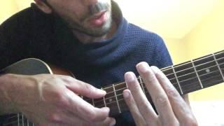 Fréro delavega - le coeur éléphant cover tuto guitare