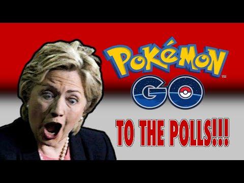 Kamala & Joe Have Their 'Pokemon Go To The Polls' Moment