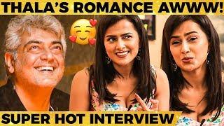 """Thala Ajith மாறி எனக்கு..."" - Shraddha Srinath's Reveals Romantic Moments | Nerkonda Paarvai"