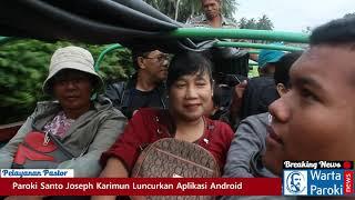 Pastor Paroki Santo Joseph Karimun Kunjungan Pastoral ke Wilayah Pulau Burung, Riau - HD