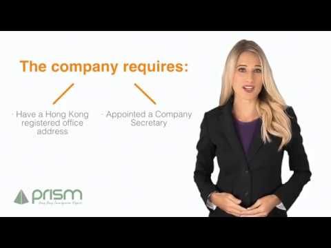 How to maintain a Hong Kong Company