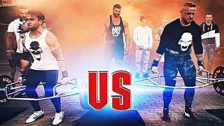 POWERBUILDER vs POWERLIFTER! Koray VS Noro - Strength Wars League 2k17 #14