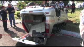 preview picture of video 'Policías persiguen y detienen a secuestradores en Cuernavaca'