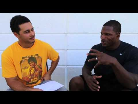 Kamerion Wimbley : Hunting Greatness Interview series ( Motivation & Being a Pro)