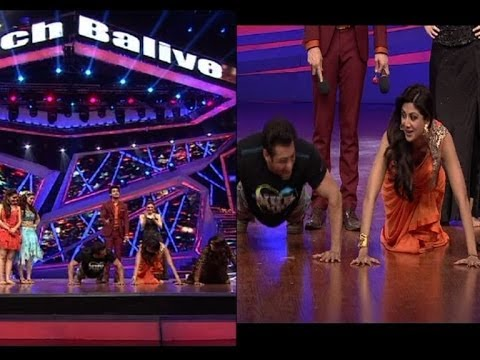 Watch Shilpa Shetty do push ups in a saree