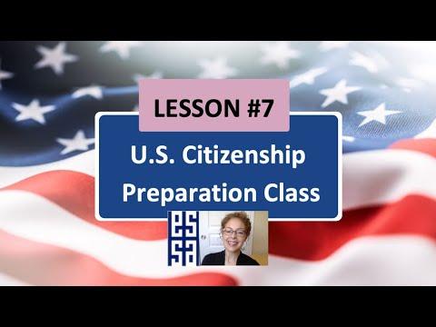 100 CIVICS QS. (2008 VERSION) - Lesson 7 U.S Citizenship ...
