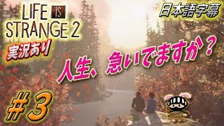 ⭐️日本語字幕・実況あり⭐️Part3ライフイズストレンジ2 Life is Strange 2 - Gameplay | PS4