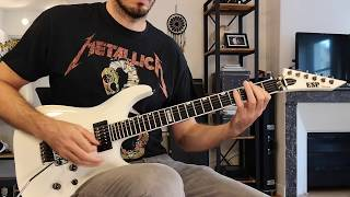 Evile - Cult Guitar Cover (with solo)
