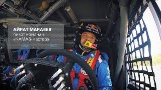 Выступление команды гонщиков «КАМАЗ-мастер» на ежегодном автомобильном шоу Kazan City Racing 2018