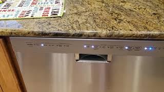 Kitchenaid Dishwasher will not start. Fixed.
