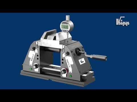 KIPPflexX: Ein flexibler 5-Achs-Spanner mit zwei Funktionen K1555
