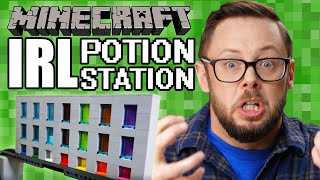 IRL Potion Station – LEGO Minecraft & BOOST – Beyond the Instructions
