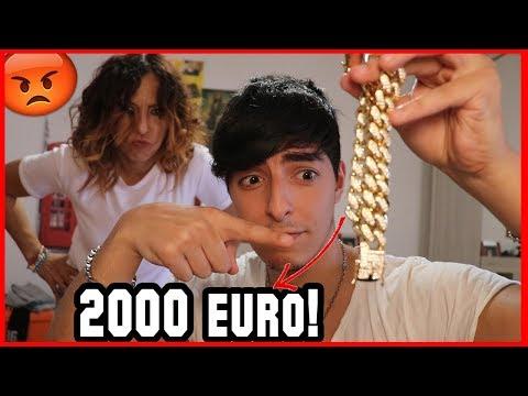 HO SPESO *2000 EURO* DAL BANCOMAT DI MAMMA! - PRANK EPICO!