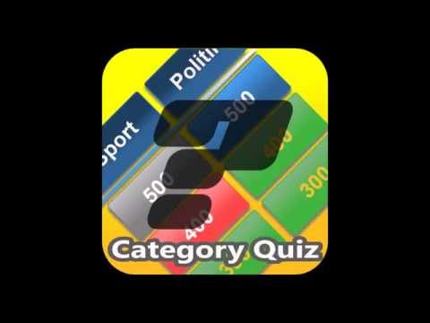 Video of Category Quiz (Trivia)