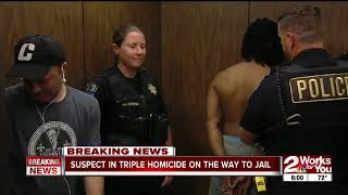 Suspect In Jail For Triple Homicide