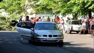 preview picture of video 'VW találkozó Balmazújváros 2012 - Gumiégetés'