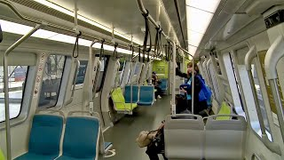 New BART Train Rolls Out for Maiden Voyage